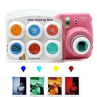 Colorful Camcorder Close-up Lens Filter For Instax Mini 9 8 8 7s