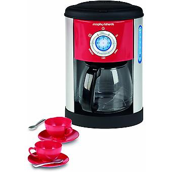 Casdon Morphy Richards Kaffeemaschine und Tassen