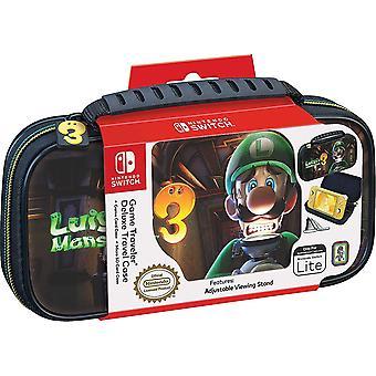 Lite Game Traveler Deluxe Case Luigi's Mansion 3 For Nintendo Switch