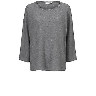 Masai Clothing Fenji Grey Knit Jumper