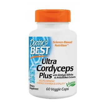 Ärzte am besten Ultra Cordyceps Plus, 60 vegetarische Kapseln