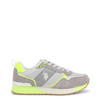 Us polo assn. 4103w8 women's synthetic suede sneakers