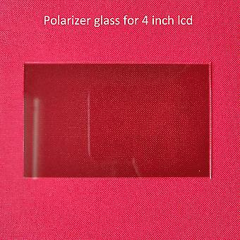 Thermal-isolating Polarizer Glass, 1.2mm For 4 Inch Lcd Mini Led Projector