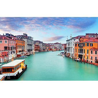 Mural de pared Canal Grande en Venecia