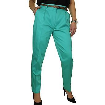 Pantalons intelligents pour femmes et femmes,s Tapered Leg Ladies Formal Lightweight Work Pants 8-22