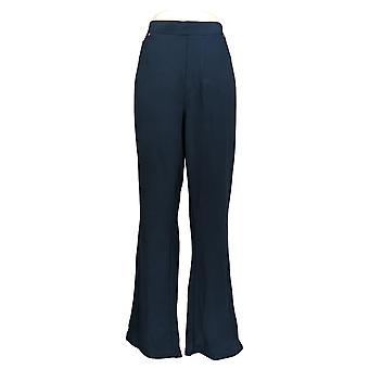 DG2 by Diane Gilman Women's Plus Top Blue Tunic 3/4 Sleeve 732-042