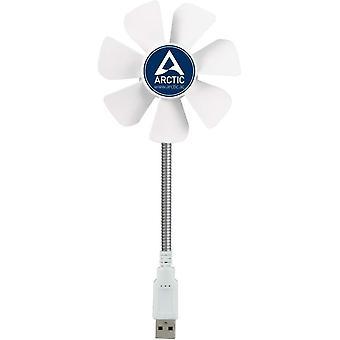 Arctic breeze mobile - mini usb desktop fan z elastyczną szyją, przenośny wentylator biurkowy do domu, biura,