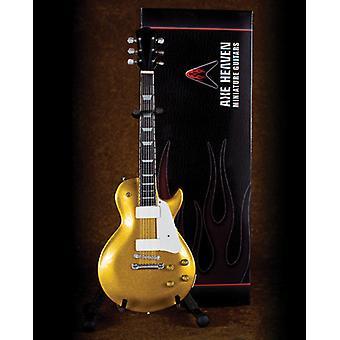 Classic Gold Finish Electric Mini Guitar Replica USA tuonti