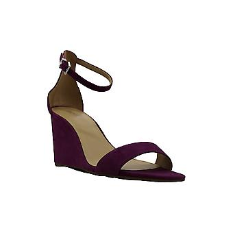 Michael Michael Kors Womens Fiona Suede Open Toe Casual Platform Sandals