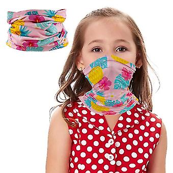 Barn Bandanas Hals Gamasje Halv ansikt Multi-purpose sikkerhetsfilter Anti-støv