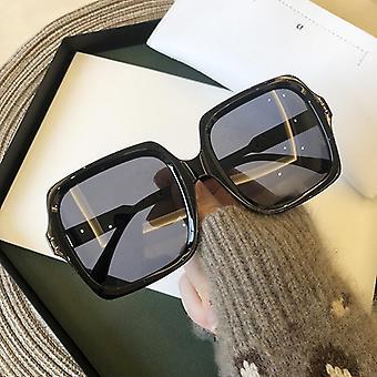 جودة عالية العلامة التجارية تصميم مربعة فاخرة Sunglass / الرجال