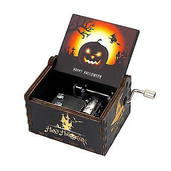 Antiikkinen veistetty laatikko