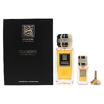 Signature Sillage D'Orient Diamond Eau de Parfum 100ml & EDP 15ml Gift Set