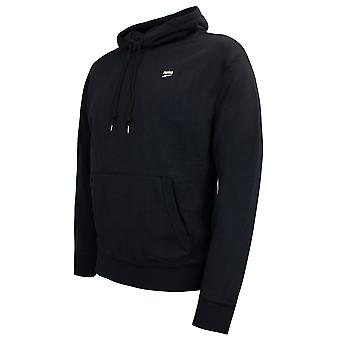 Puma Downtown Pull Over Hoody Black Mens Hooded Jumper 596002 01