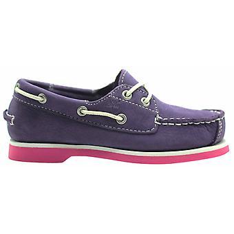 تيمبرلاند جزيرة الأرض حفظة 2I أحذية قارب الفتيات الشباب 6877R B1C