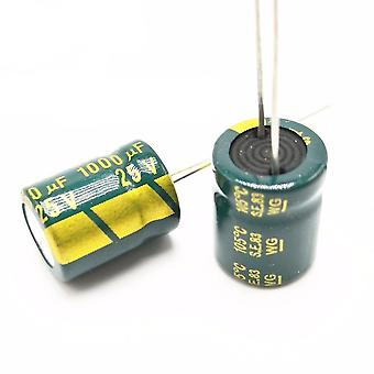 25v 1000uf Low Esr/impedance High Frequency Aluminum Electrolytic Capacitor