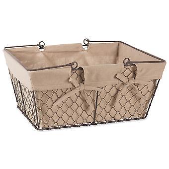 Dii Chicken Wire Egg Basket Natural