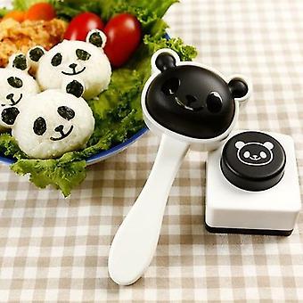 Panda Easy Sushi Mold Diy Onigiri Kitchen Tools Bento Accessories