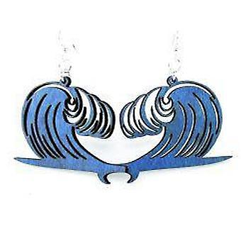 Wave Surfboard Earrings