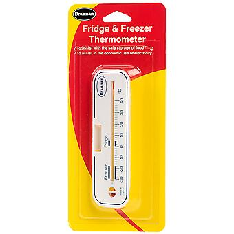 Brannan Horizontal Fridge/freezer Thermometer