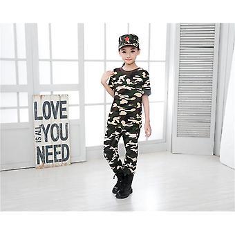 Kinder Militärische Ausbildung Uniformen Camouflage Kleidung Set Kid's Armee Anzug