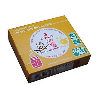 Abrikos Vanilla Raspberry Gær Gær 3 pakker