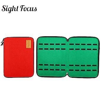 40 Slot Felt Watch Organizer Box Case Watchband Storage Bag