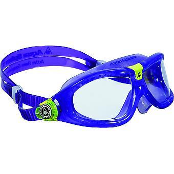 Aqua Sphere Seal Kid 2 Yüzme Gözlüğü - Şeffaf Lensler - Menekşe