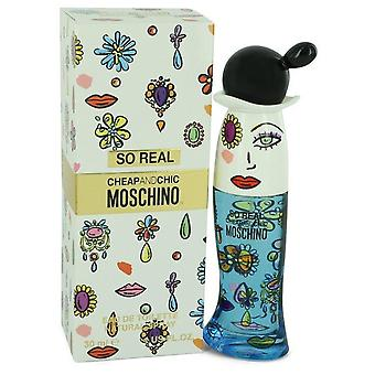 Cheap & Chic So Real Eau De Toilette Spray By Moschino 1 oz Eau De Toilette Spray