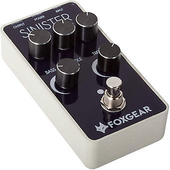 Foxgear sinister distortion guitar effect pedal