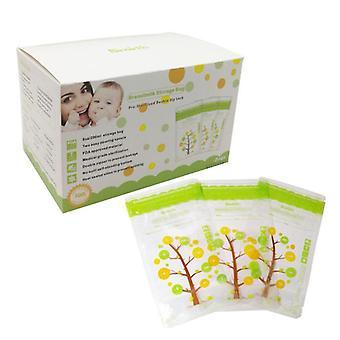 112st Baby Breast Milk Storage Bags Läcka bevis steriliserad frys förvaringsväska