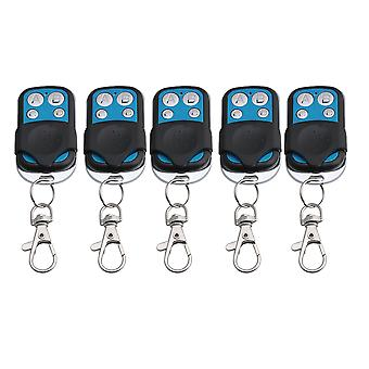 5Pieces Gates Door 4CH 433MHz RF Wireless Remote Control Learning Code 1