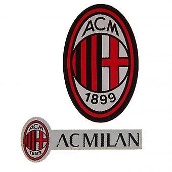 AC Milan Twin Patch Sæt