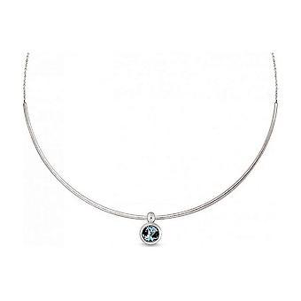QUINN - girocollo - signore - argento 925 - gemma - topazio blu - 27094958