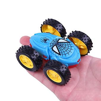 Cool Dwustronna wywrotka Inertial Car Toy