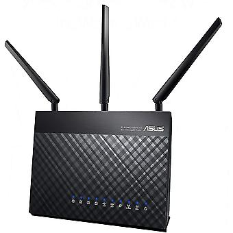 Wokex RT-AC68U Router (Ai Mesh WLAN System, WiFi 5 AC1900, 4x Gigabit LAN, App Steuerung,