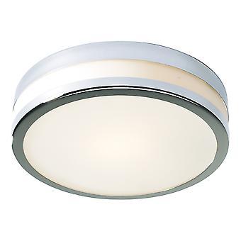 Łazienka Sufit Flush Ceiling Light Małe IP44 Polerowane Chrom