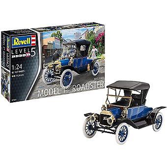 Gerui RV07661 07661 7661 1:24 Ford T Roadster (1913) Plastic Model Kit, Various, 1/24