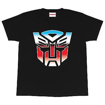 Transformers Boys Autobots Logo T-Shirt