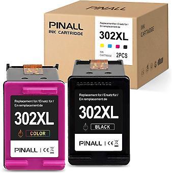 FengChun 2 Druckerpatronen Kompatibel HP 302XL fr HP DeskJet 3639 3630 OfficeJet 3831 3830 3833