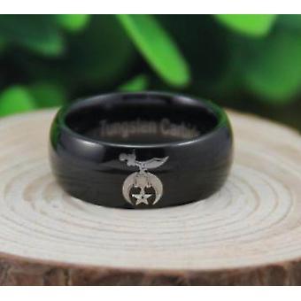 Le baiser shriner ring free engraving
