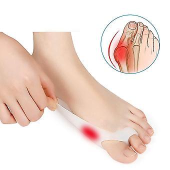 2pcs Silicone Hallux Valgus Toe Separator Silicone Insoles Toe Finger Pain