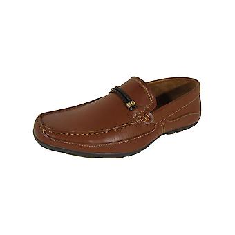 Madden By Steve Madden Mens M-Jaake Moc Toe Loafer Shoes