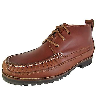 Cole Haan Mens Connery Moc Toe Chukka Lace Up Boot Shoes