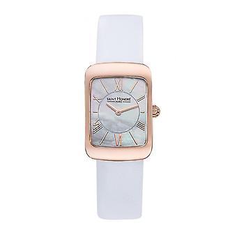 Watch Women Saint Honor 7210598YRAR - White Leather Strap