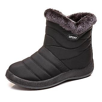 Women Winter Plush Waterproof Boots