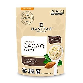 Navitas Naturals Organic Cacao Butter, 8 Oz