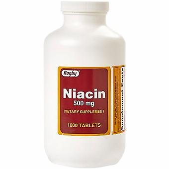 Major Pharmaceuticals Dietary Supplement Major Vitamin B3 / Vitamin B 500 mg Strength Tablet 100 per Bottle, 1000 Tabs
