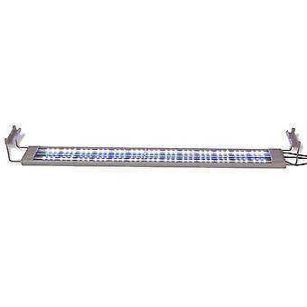 vidaXL Akvaario LED-lamppu 80-90 cm Alumiini IP67
