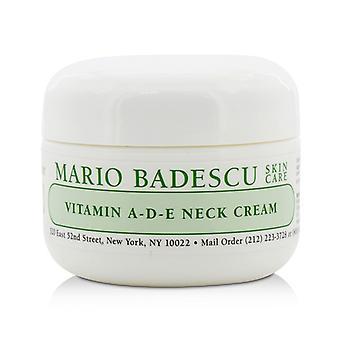Mario Badescu Vitamin A-D-E Neck Cream - For Combination/ Dry/ Sensitive Skin Types 29ml/1oz
